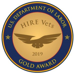 HIRE Vets Gold Medallion