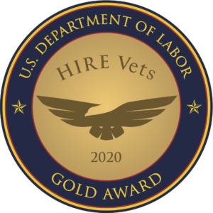 HIRE Vets Gold Medallion